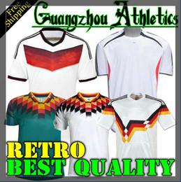 ad43d135236 1990 1994 1988 Germany Retro version VINTAGE CLASSIC Soccer Jersey  KLINSMANN Matthias home away 2014 shirts KALKBRENNER JERSEY germany home  soccer jersey ...