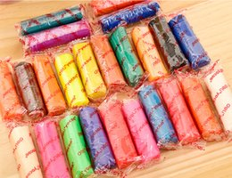 Canada Plâtre de jouet pour enfants i 24 couleurs comme le plâtre de grande taille non toxique des élèves de l'école primaire costume en plâtre fait à la main costume maternelle jouet plas Offre