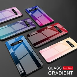 2019 samsung a8 Закаленное стекло градиент чехол для Samsung Galaxy S10 S10e A9 A7 A8 A6 Plus 2018 A7 A5 2017 J8 J4 J6 Plus S9 S8 Plus Note 8 9 S скидка samsung a8