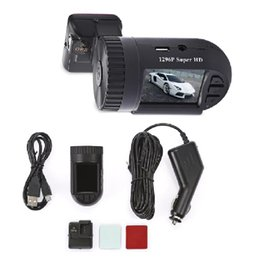 2019 charutos chineses 1 PC Mini 1.5 polegada 1296 P HD LCD Tela GPS Do Carro DVD Camcorder