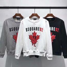 combinazioni lettere Sconti 2018 Luxurys Brands G Canada Designer Felpe con cappuccio da uomo T-Shirt Italia Moda casual Autunno inverno Felpa a maniche lunghe Hip-Hop DS2 tees