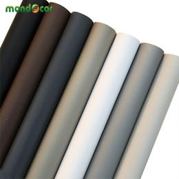 blocs en bois anciens Promotion Solide Mat Cuisine Armoire Armoire Papier Peint Autocollant Rouleau Vinyle Meubles Stickers Muraux PVC DIY Bricolage Décoratif Papier De Contact