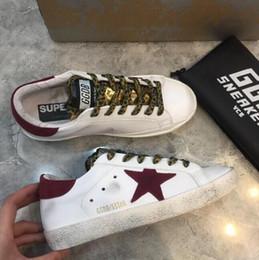 1b34eb03 zapatos ggdb Rebajas Golden Goose Ggdb para damas tenis tenis zapatos de  cuero genuino Villous Dermis