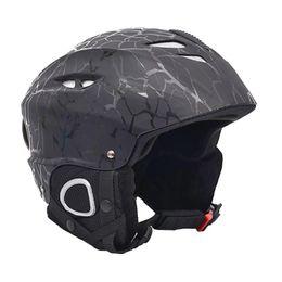 2019 capacete ajustável Capacete ajustável do Snowboard do skate da segurança do capacete da neve do esqui para o adulto desconto capacete ajustável