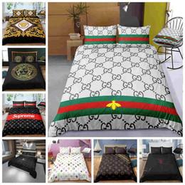 Modisches Bettwäscheset King Size Luxus Bettbezug Queen Twin Full Single Double Weiches Berührungsmaterial Komfortable Bettdecke von Fabrikanten