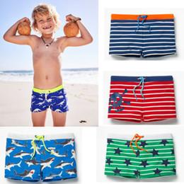 Прохладный ремни мальчиков онлайн-2018 Cool Boys детские плавки с цветочным принтом Шорты для плавания в полоску Пляжная одежда Ремень Пляжная одежда для малышей Летняя пляжная одежда