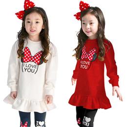 футболки с длинными рукавами Скидка 3 4 5 6 7 8 лет одежда для девочек новый мультфильм хлопок детская одежда комплект с длинным рукавом рубашки леггинсы 2 шт. Детские костюмы для девочек