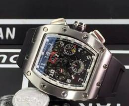 Clássico Marca de Luxo Automático Felipe Massa Flyback Relógios De Borracha Mecânica Mens Esqueleto relógio De Pulso Inoxidável Para Homens Venda Frete Grátis de