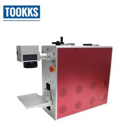 kunststoff-lasergravur Rabatt Tischplattenfaserlaser-Markierungs-Maschine für Metallgravur PWB / ABS Shell / Chips / Plastikmarkierungs-Telefon-rückseitige Abdeckungs-Glastrennung