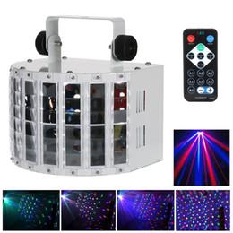 2019 projetor estrela em movimento Efeitos de Palco de Led Luz Luzes de Controle de Som Automático RGB Strobe Lamp 6 Canais DMX Iluminação para Festa de Natal Em Casa KTV Disco DJ