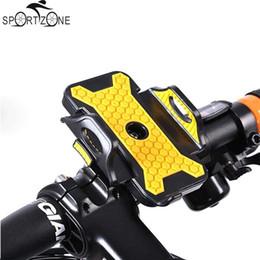 Универсальный ABS Велосипед Держатель для телефона на велосипеде Стенд Кронштейн Регулируемая ширина 53мм-83мм Противоскользящие для iPhone Android Мобильный телефон # 541764 от
