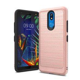 Coolpad cover online-Für Coolpad Legacy Foxxd Miro Metallgehäuse Hybrid Brushed Armor Cover für Wiko Ride LG K40 Stylo 5