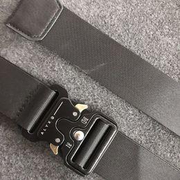 2019 fivelas de nylon com fivela de plástico ALYX cinto Marca Mens Militar Outdoor Training multifuncional Strap alta qualidade ceintures Hip Pop Homens Off Belt OW