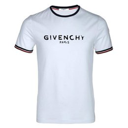 Мужская летняя летняя дизайнерская футболка с надписью «Футболка» с короткими рукавами из хлопка от