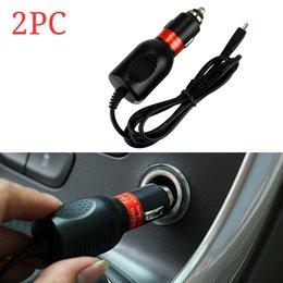 2019 cables más ligeros 1/2 PC DC 5V-1500 mAh Max Mini USB cargador de coche adaptador de encendedor de cigarrillos cable para grabador de conducción GPS PDA / MP3 / MP4 cables más ligeros baratos