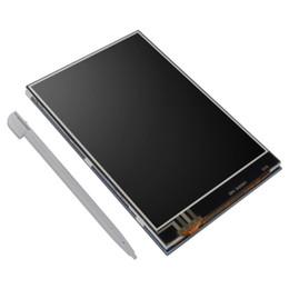Canada pour moniteur Pi3 d'origine, modèle B, 3,5 pouces, moniteur à écran tactile, kit d'affichage à cristaux liquides 480x320 Offre