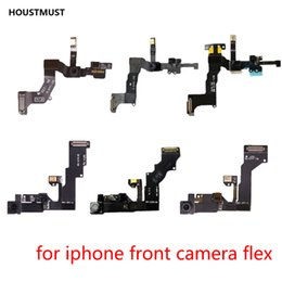 kameramodul iphone 5s Rabatt Ersatzteile Rückseite vorne Kamera Näherungssensor Flex-Modul für iPhone5 5c 5s 6 6s 6p 6s plus Frontkamera Sensor Flex