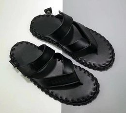 Brand New Forced 1 07 LV8 Hommes Designer Pantoufles Tongs au crochet en cuir véritable pantoufles luxe Mode Summer Beach Pantoufles Casuals chaude ? partir de fabricateur