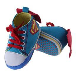 Nouvel été nouveau-né garçons garçons classique premiers marcheurs chaussures babe infantile lacent des bottines bottes enfant à semelle souple ? partir de fabricateur