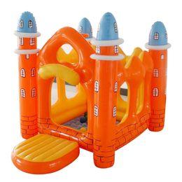 Canada Château gonflable de paradis de JOURS JOYEUX de maison gonflable avec le château vilain de grand château gonflable d'enfants cheap backyard play toys Offre