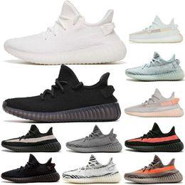 Canada 350 Kanye West v2 Hommes Desinger Triple Chaussures De Course Femmes Baskets Sésame Bleu Gelé Jaune Crème Zèbre Sports Zapatos Sneakers taille 13 Offre