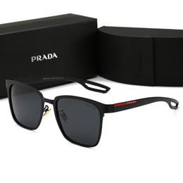 occhiali da sole arancioni sportivi Sconti Occhiali da sole di design Occhiali da sole di marca P0120 Occhiali per uomo Occhiali di moda donna Guida UV400 Alta qualità con scatola Nuovo caldo