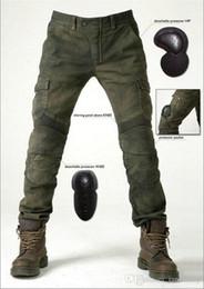 Envío gratis uglybros motocicleta pantalones pantalones vaqueros motorpool pantalones casuales con 4 piezas de protetion engranajes pantalones de carreras desde fabricantes