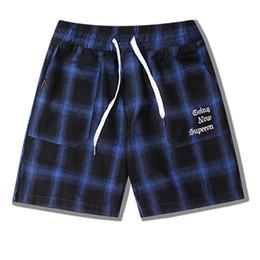 calças casuais xadrez para homens Desconto Casual Xadrez Mens calções Designer de Alta Qualidade calças Dos Homens Moda Masculina Mulheres Hip Hop Verão Esporte Shorts