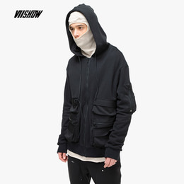 3b50f890fe8 Viishow Streetwear Hooded Men Jackets Brand Casual Solid Jackets Men Clothes  Chaqueta Hombre 2019 New Cotton Outwear JC1058191
