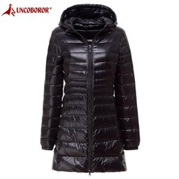 Winter Jacket Women Coat 2018 Warm Ultra Light 90% White