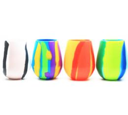 4 cores 12 oz camuflagem de silicone copo de vinho tinto copos de cerveja de vidro copo de cerveja de silicone drinkware caneca de café garrafa de água de