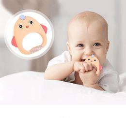 bébé enfants jouets de morsure de confort gélatine dentaire molaire fournitures mère et l'enfant nouveau bébé silicone teether ? partir de fabricateur