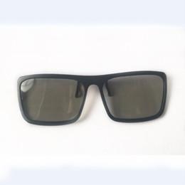 Fahion glasses онлайн-Солнцезащитные очки Fahion Style 3D Поляризованные очки Стерео стекло Специальные очки для кинотеатра Для трехмерной игры в кино Анаглиф DVD DVD TV