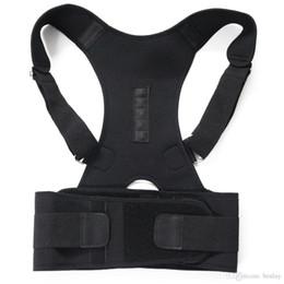 Correzione postura della spalla posteriore 3 colori Regolabile Sportivo per adulti Supporto per la schiena Corsetto Supporto per la schiena Cintura Correttore di posizione da