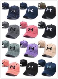 Ua спорта онлайн-Бренд UA Snapback бейсболка под шляпу спорт хип-хоп шапки камуфляж камуфляж кости регулируемые шляпы броня Мужчины Женщины Casquette уличные шапки