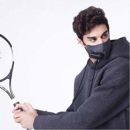 Deutschland Auf Lager Xiaomi Reiner Luftschutzmaske mit PM2.5 550mAh Wiederaufladbarer Filter mit Gebläse für Sportler für Mannfrauen Versorgung