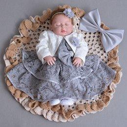 2019 vestido para niñas de 12 años. Gris Baby Girl Dresses Jacket Angel 1 año de edad, fiesta de cumpleaños Vestido 2018 infantil Toddler Baby Girls ropa para 12 meses 174021 Y19061001 rebajas vestido para niñas de 12 años.