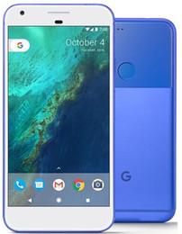android solo teléfono celular Rebajas Original Google Pixel XL Quad Core 32GB / 128GB 5.5 pulgadas 12.3MP Single Sim 4G Lte desbloqueado teléfono celular