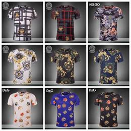 19ss suave italiana Casual M de d verano Hombres Camiseta Alta Camiseta algodón Camiseta 3XL Mujer calidad impresión y sedoso de Moda Ropa JS20 3 con calle YHrqwZYF