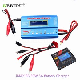 cargador lipo b6 Rebajas Cargador de batería kebidu iMAX B6 50W 5A Lipo NiMh Li-ion Ni-Cd Digital RC Cargador de equilibrio para Walkera x350