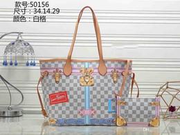 Argentina W8LOUIS VUITTON S UPREME Impreso de alta calidad de las mujeres grandes bolsos cosméticos Bolso de hombro de las señoras Bolsas de mensajero Bolsas de la bolsa de asas del bolso de compras Suministro