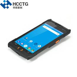 Scanner nfc on-line-Barato Handheld NFC À Prova D 'Água ip67 Robusto Android Profissional emv 2D Barcode Scanner Survey Handheld NFC PDA Coletor de Dados C50