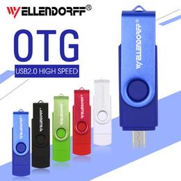 100% gerçek kapasite OTG mikro USB Flash Sürücü 64 gb 32 gb kalem sürücü kalem sürücü USB sopa harici depolama usb çubukları baskı yapabilir nereden
