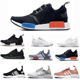 zapatos de camuflaje para mujer Rebajas 2019 NMD R1 Oreo Runner Nbhd Primeknit OG Triple Negro Camo Zapatos para correr Zapatillas de deporte para hombre para hombre Zapatillas deportivas baratas 36-46
