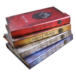 doraemon plush Desconto Harry Potter Notebook Planner Diário Livro Mágico Com 2019-2020-2021 Calendário Presentes Agenda retro capa dura Horário Grimore