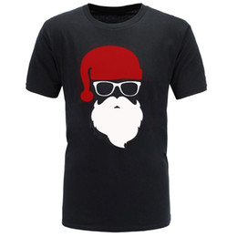 e70f947884 HOT!2018 summer brand Santa Father Christmas Festive Custom Funny T Shirt  Men Cotton Short Sleeve T-shirt homme Top Tees