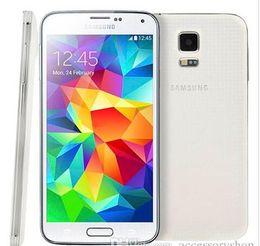 Orijinal Samsung S5 I9600 Orijinal Unlocked Galaxy S5 I9600 G900A G900T G900F 16MP Dört çekirdekli GPS WIFI Yenilenmiş Cep Telefonu nereden orijinal samsung s5 cep telefonu tedarikçiler