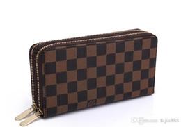 Cartes de crédit de détail en Ligne-2019 Vendre en gros et au détail de nouveaux portefeuilles en cuir pour hommes et femmes porte-cartes (3 couleurs pour choisir) sacs à main