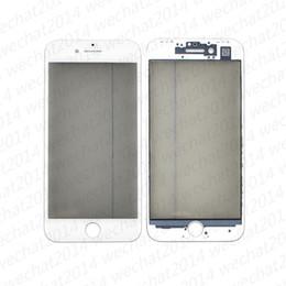 2019 iphone 6s oca Lentille en verre avec écran tactile avant en verre avec cadre OCA Polarizer pour iPhone 6 6s 7 8 Plus promotion iphone 6s oca