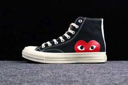 nouvelles chaussures à glissière pour garçons Promotion 0202019 1970 original Chaussures pour homme femme en cours Sneakers High Top Skate Big Fashion Eye Livraison gratuite Casual